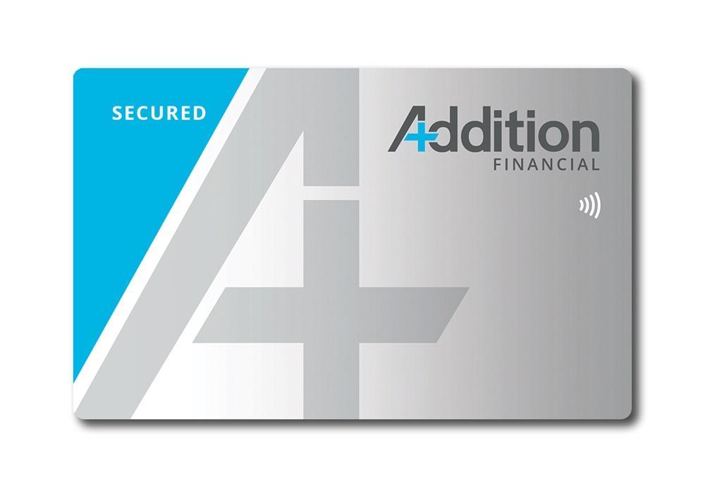 Secured credit card design