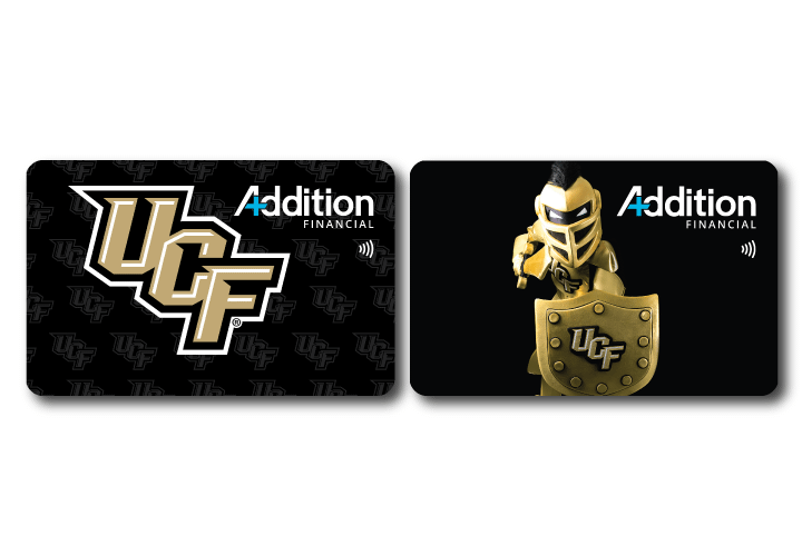 UCF Knights debit cards